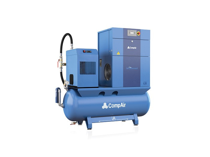 Compair air station compressor